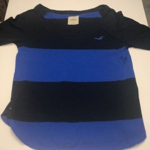 Hollister stripped long sleeve shirt